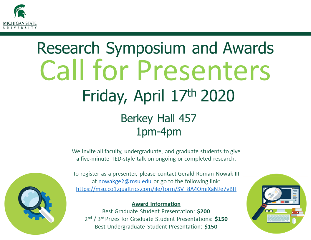 2020 Research Symposium Call for Presenters