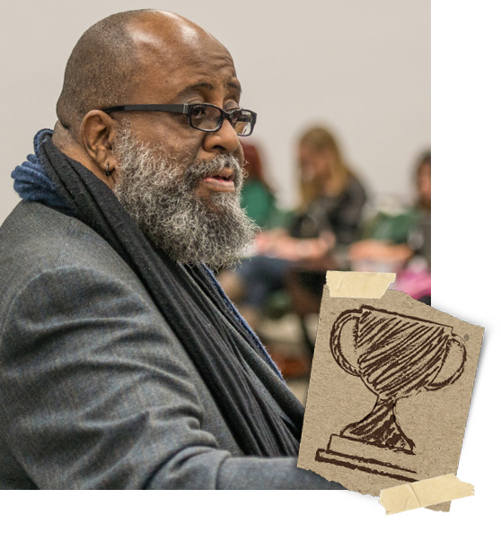 Dr. Carl Taylor named Diversity Champion